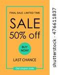 mobile banner for online...   Shutterstock .eps vector #476611837