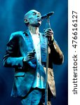 Small photo of Isle of Wight Festival - June 10 2016: Maxi Jazz with Faithless performing on the main stage at I.o.W Festival, Newport, Isle of Wight, June 10, 2016 on the Isle of Wight, UK