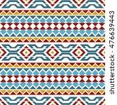 seamless pattern based on... | Shutterstock .eps vector #476639443