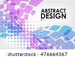 abstract background  purple and ... | Shutterstock .eps vector #476664367