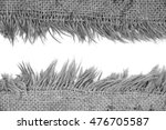 light natural linen texture for ... | Shutterstock . vector #476705587