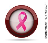 breast cancer ribbon icon.... | Shutterstock . vector #476751967