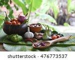 pepper  onion  garlic and...   Shutterstock . vector #476773537