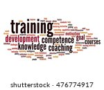 concept or conceptual training  ... | Shutterstock . vector #476774917