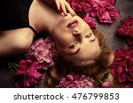 beauty portrait. beautiful... | Shutterstock . vector #476799853