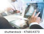 business team present. photo... | Shutterstock . vector #476814373