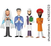 religious people 04 | Shutterstock .eps vector #476823523