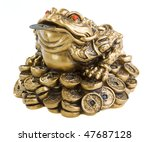 Chinese Feng Shui Frog With...