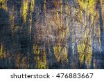 Small photo of Rusty textured metal textured surface, painted with old yellow acid dye