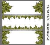autumn frame. maple leaf frame. ... | Shutterstock .eps vector #476910763