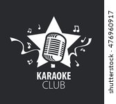 vector logo karaoke | Shutterstock .eps vector #476960917
