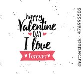 happy valentines day | Shutterstock .eps vector #476993503