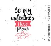 happy valentines day | Shutterstock .eps vector #476993557