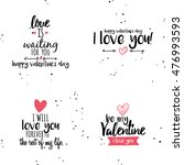 happy valentines day | Shutterstock .eps vector #476993593