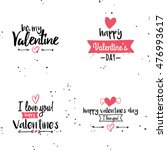 happy valentines day | Shutterstock .eps vector #476993617