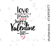 happy valentines day | Shutterstock .eps vector #476993977