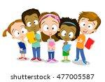 cartoon illustration of... | Shutterstock .eps vector #477005587