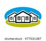 district vector conceptual... | Shutterstock .eps vector #477031387