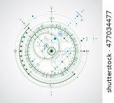 vector engineering... | Shutterstock .eps vector #477034477