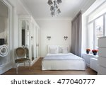 bedroom interior   Shutterstock . vector #477040777