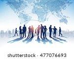 business group. vector... | Shutterstock .eps vector #477076693