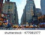new york  usa   september 28 ... | Shutterstock . vector #477081577