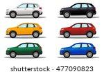 set of terrain vehicles in...   Shutterstock .eps vector #477090823