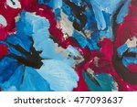 abstract acrylic painted... | Shutterstock . vector #477093637