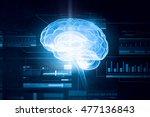 media technology concept .... | Shutterstock . vector #477136843
