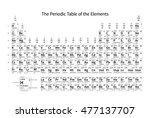 black and white monochrome... | Shutterstock . vector #477137707