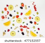 fruit background | Shutterstock . vector #477152557