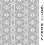 seamless geometric line pattern.... | Shutterstock .eps vector #477158353