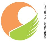 wing vector logo | Shutterstock .eps vector #477183667