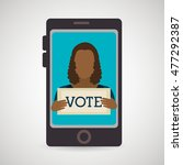 elections voting vote pc   Shutterstock .eps vector #477292387