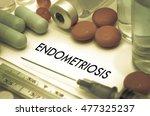 endometriosis. treatment and... | Shutterstock . vector #477325237