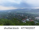 north thailand top view... | Shutterstock . vector #477402037