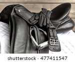Used Black Dressage Horse...