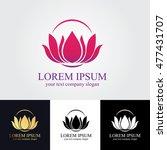 lotus logo | Shutterstock .eps vector #477431707