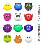 animal characters for games on... | Shutterstock . vector #477485233
