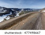 Small photo of Road too Latrar Air Station Iceland