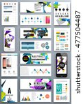 business abstract template... | Shutterstock .eps vector #477504487
