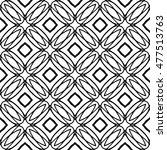 line ornament pattern. black... | Shutterstock .eps vector #477513763