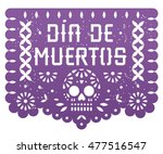 Mexican Day Of The Dead Banner...