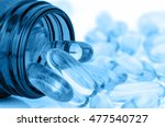 Small photo of Soft gelatin capsule use in pharmaceutical manufacturing for contain oily drug and nutritional supplement like vitamin A, E, fish oil, primrose oil, rice barn oil and other oily drugs.