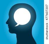 vector illustration of speech...   Shutterstock .eps vector #477607207