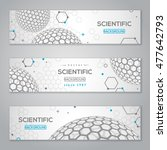 horizontal banners set with... | Shutterstock .eps vector #477642793