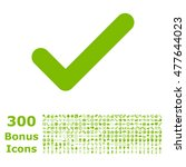 ok icon with 300 bonus icons....