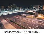 fast traffic and pedestrian... | Shutterstock . vector #477803863