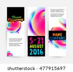 abstract template with... | Shutterstock .eps vector #477915697