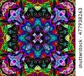 Abstract Decorative Multicolor...